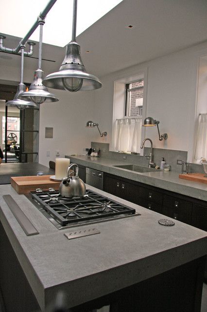 Concrete Kitchen Countertop modern-kitchen-countertops