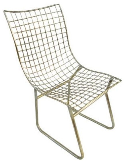 Modern Metal Weave Chair Modern Armchairs And Accent Chairs