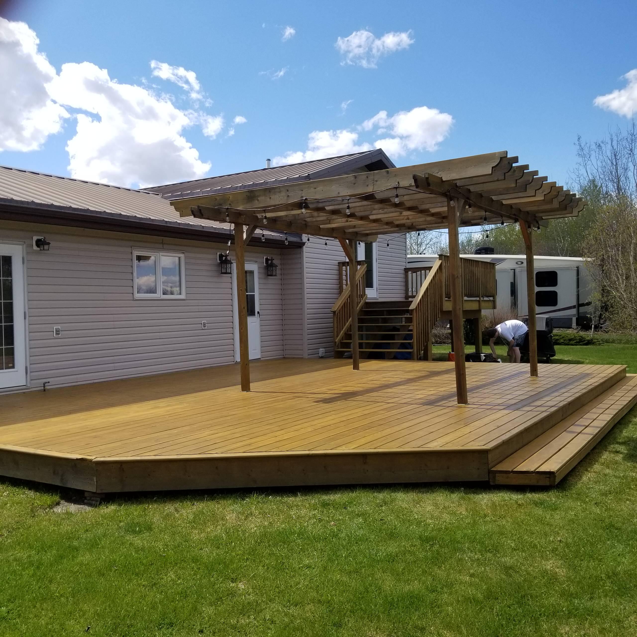 Deck Maintenance 2021