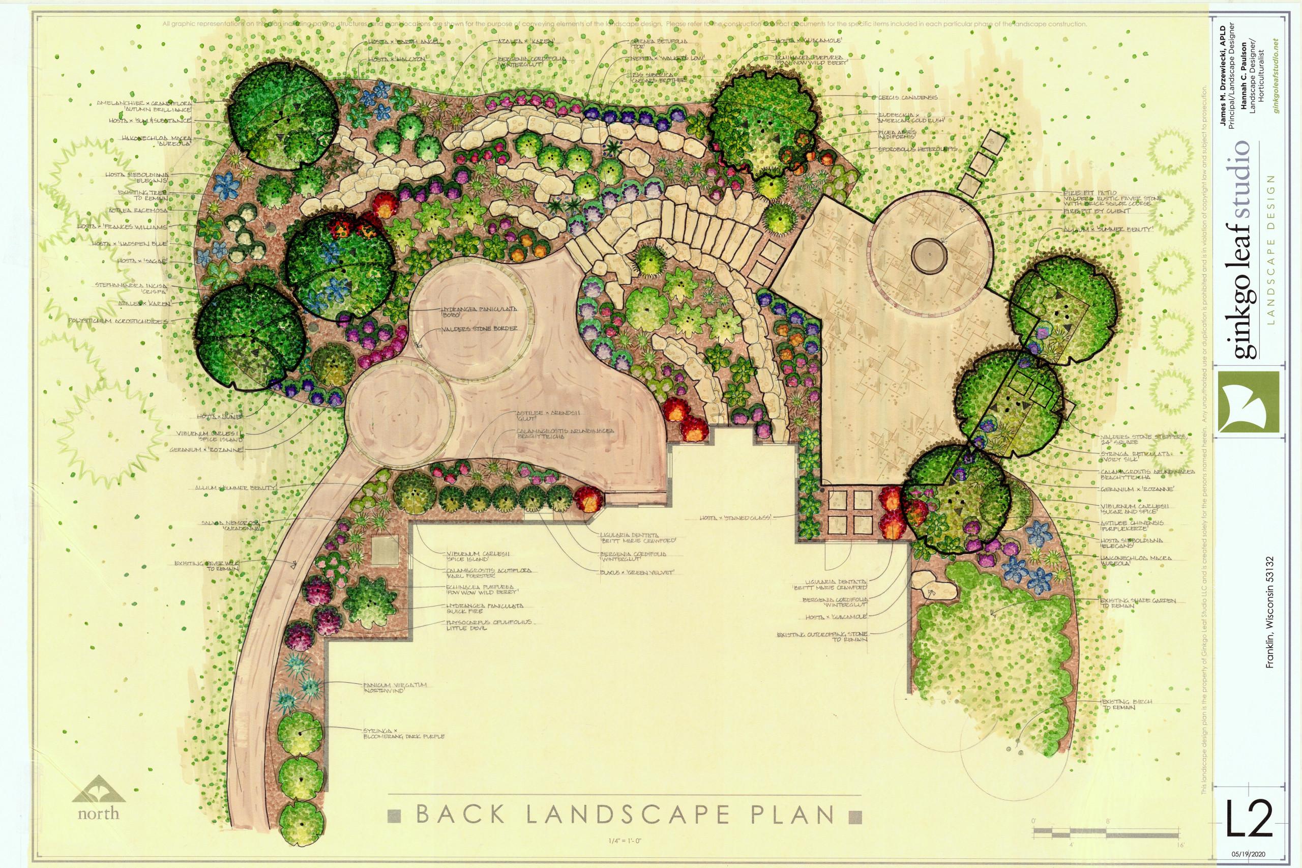 Transitional Patio and Landscape Renovation - Franklin