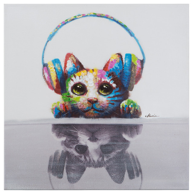 Yosemite Home Decor Cat Beats Decorative Art.