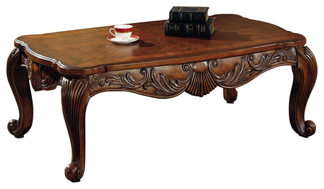 Coaster Venice Traditional Rectangular Tail Table