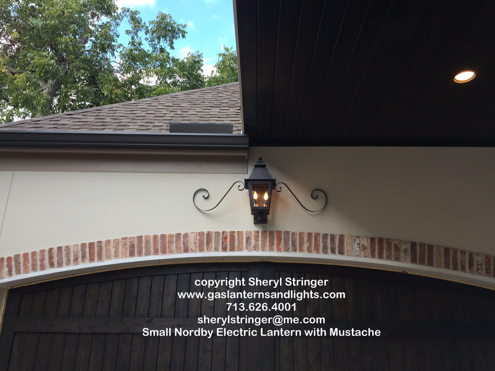 Sheryl's Small Nordby Electric Lantern with Mustache Curl