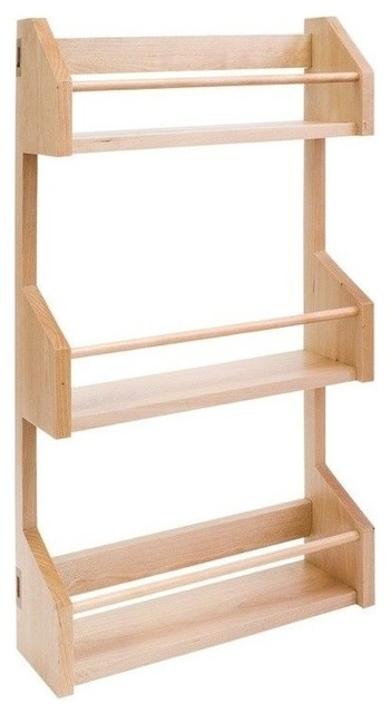 Hardware Resources Spr15 Wall Cabinet Organizers Spice Rack.