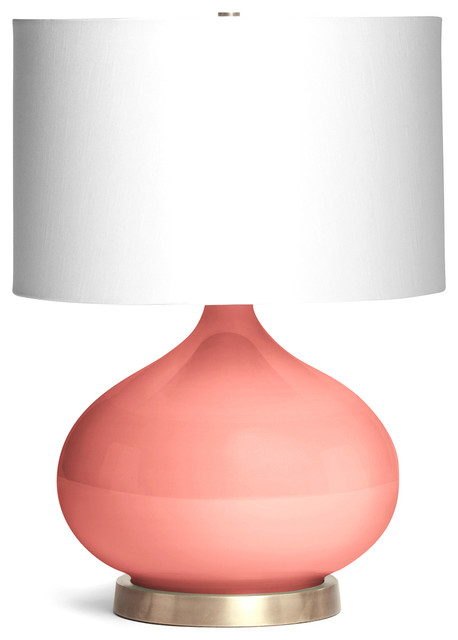 Simple Transitional Table Lamps by Kathy Kuo Home