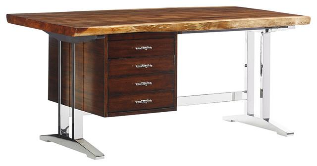 Sligh Studio Designs La Costa Live Edge Writing Desk
