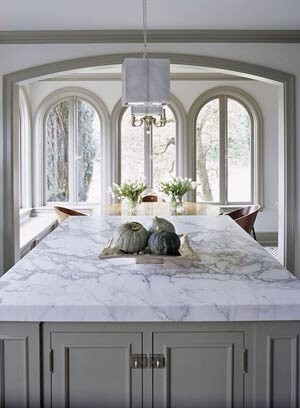 Polished Versus Honed Marble In The Kitchen