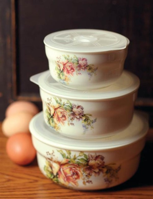 Good Charmed Life Lidded Food Containers Victorian Food Storage Containers