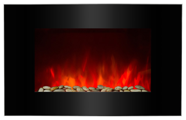 36 Electric Fireplace With 2-In-1 Interchangeable Bedding.