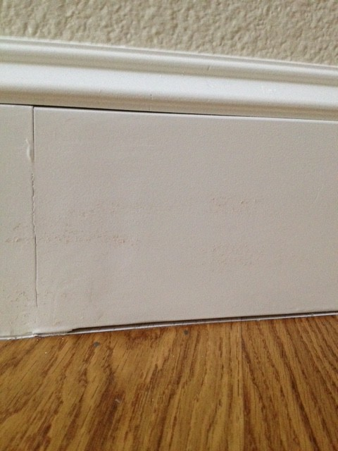 Caulking Between Baseboards And Hardwood?