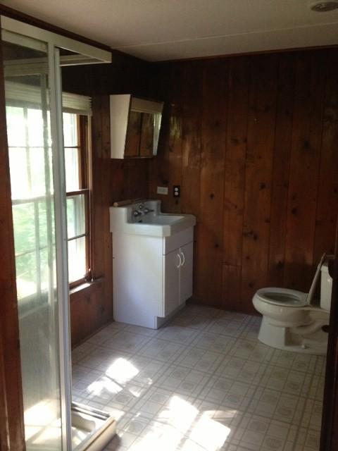 Awesome Knotty Pine Bathroom   HELP!