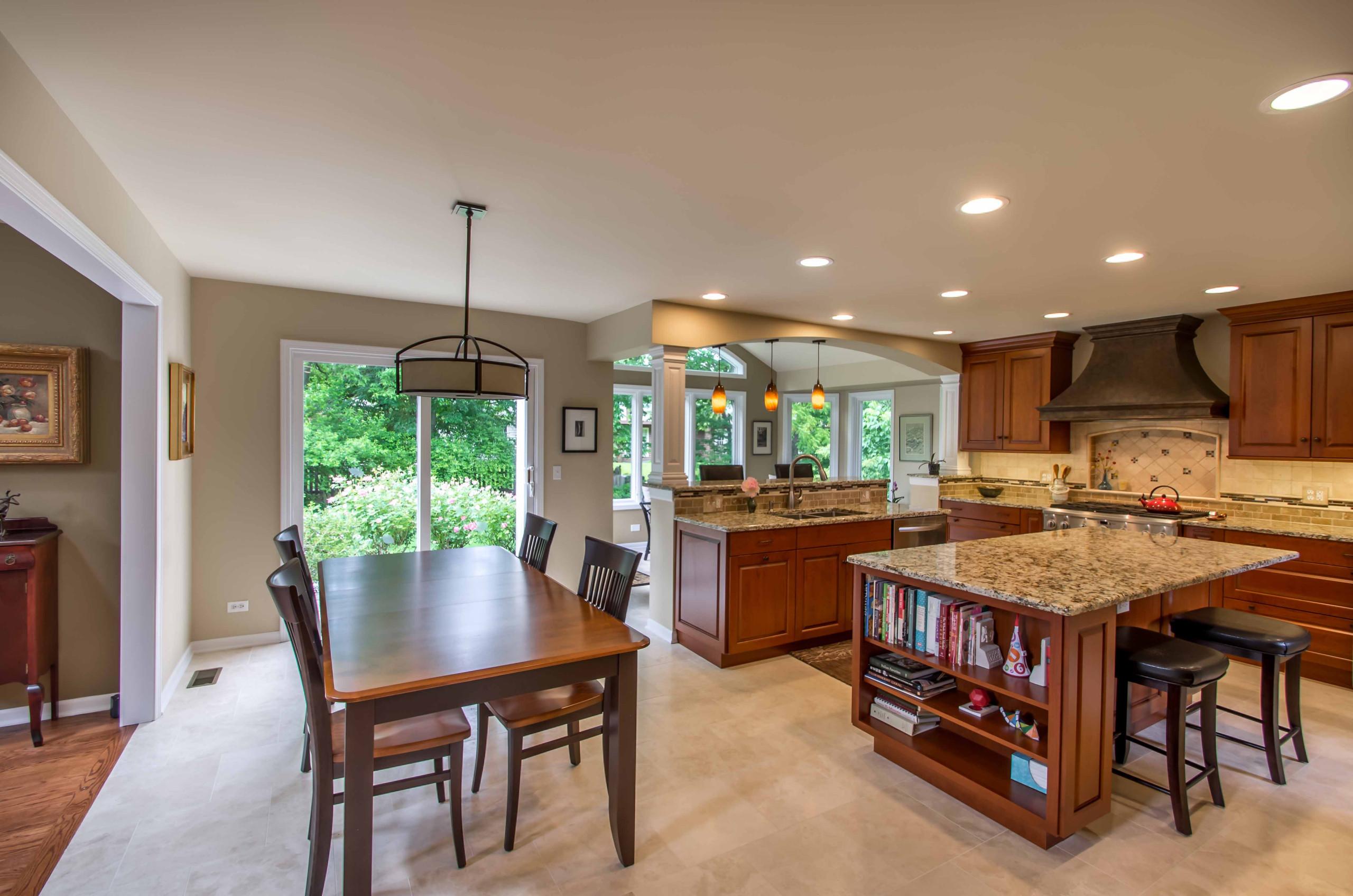 Double Island Kitchen & Sunroom