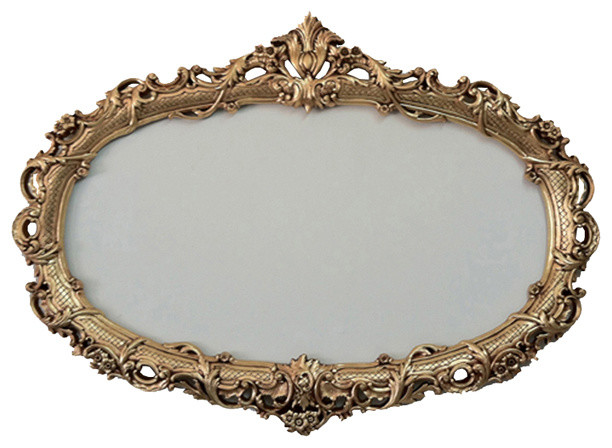Oval Decorative Frame for Mirrors - Traditional - Wall Mirrors - by ...