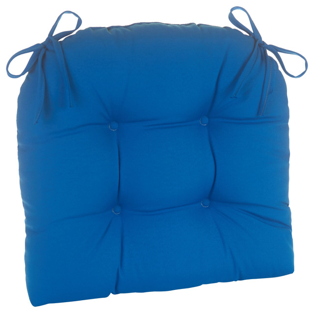 Patio Outdoor Indoor Extra Large Chair Cushion Marine Blue