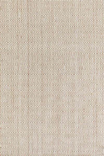 Dash Albert Woven Diamond Jute Rda315 Beach Style Area Rugs