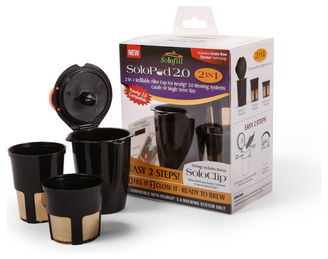 Solopod 2 0 In 1 Refillable Filter Cup For Keurig