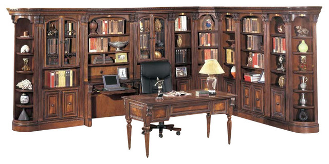 Parker House Huntington Large Library Desk Wall