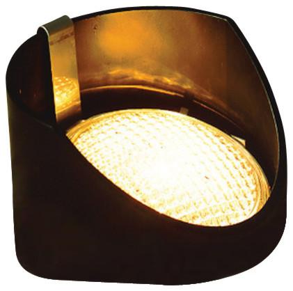 Kichler Adjustable Low Voltage In-Ground Light, 15388bk.
