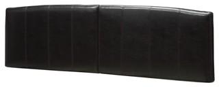 "Ledge Arch Leather Headboard, King, 82""x3""x24"""