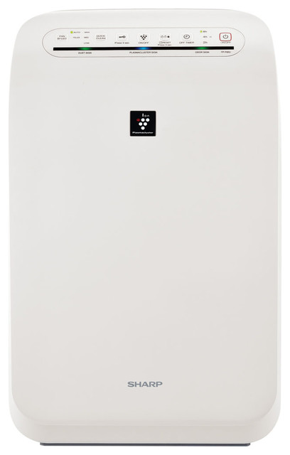Plasmacluster Ion Air Purifier With True Hepa Filtration, 280 Sq. Ft..