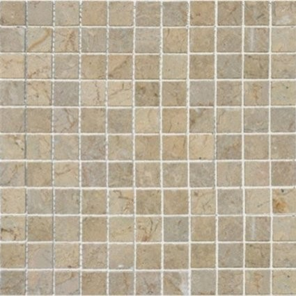 Contemporary Wall Tile sahara gold 1x1 mosaic polished marble floor & wall tile