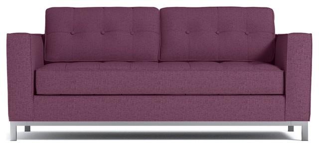 Fillmore Apartment Size Sleeper Sofa Innerspring Mattress Amethyst