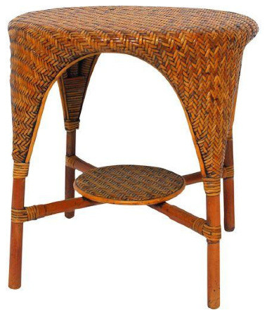 Palecek Rattan Bamboo Waterfall Table Side Tables And End Tables