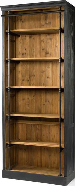 Ivy Bookcase, Matte Black