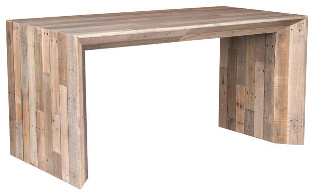 Kosas Home Ashville Reclaimed Pine Natural Desk Rustic