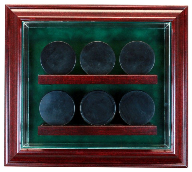 Perfect Cases, Inc. 6 Hockey Puck Cabinet Style Display Case - Storage ...