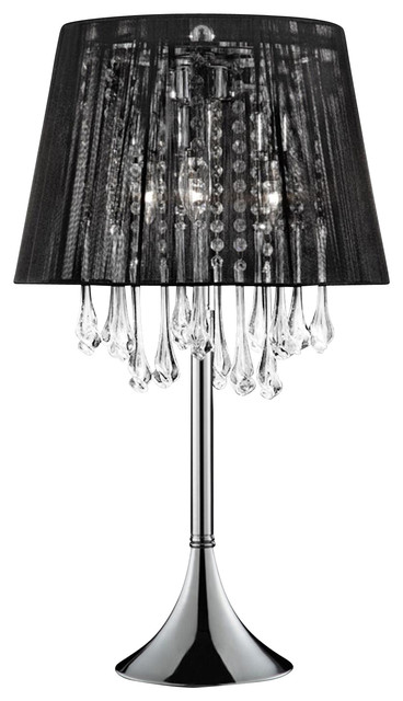 Nightfall Crystal Table Lamp.