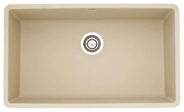 Blanco 441299 Precis Super Single Bowl Sink Biscotti