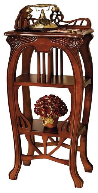 Art Nouveau Harp Side Table Traditional Side Tables