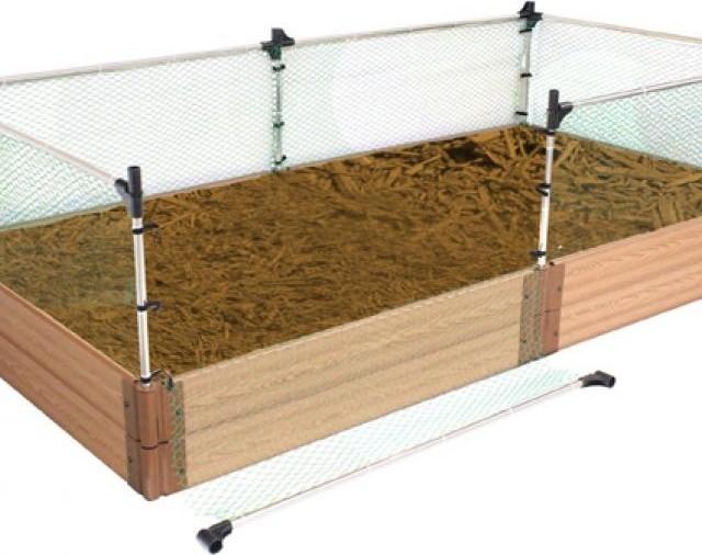 Shop Houzz Frame It AllTM Garden Box Animal Barrier Kit