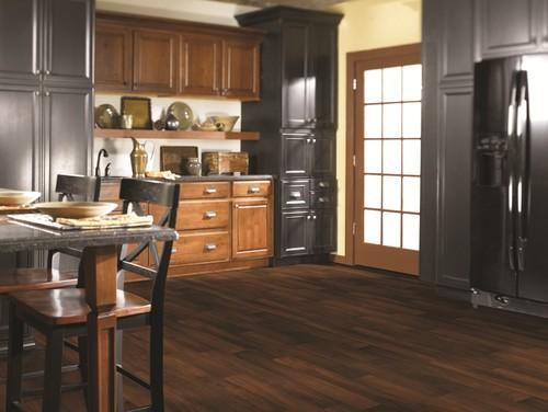 traditional vinyl flooring Kent Dark Cherry vinyl sheet flooring from Shaw