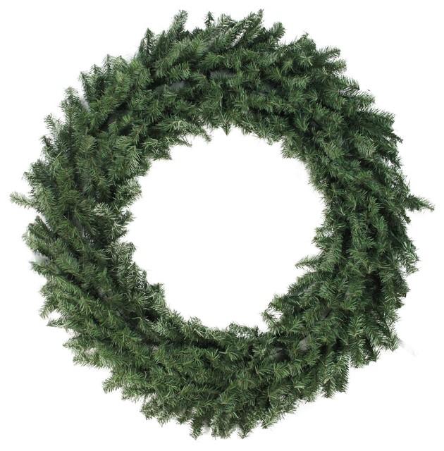 "48"" Canadian Pine Artificial Christmas Wreath - Unlit."