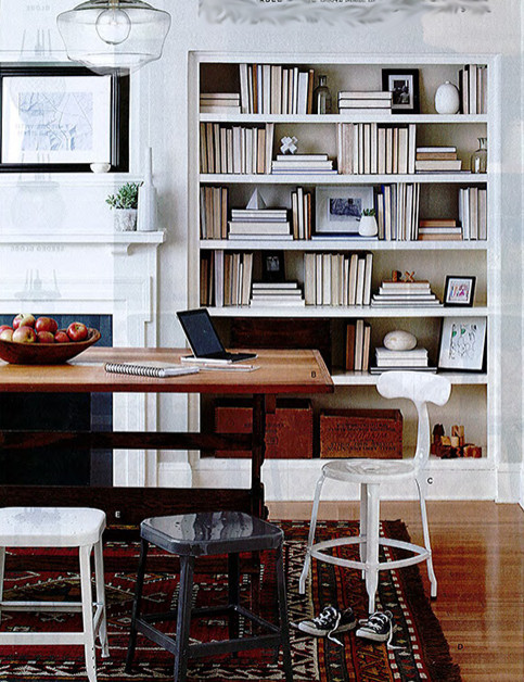 When Staging A Bookcase Goes Too Far