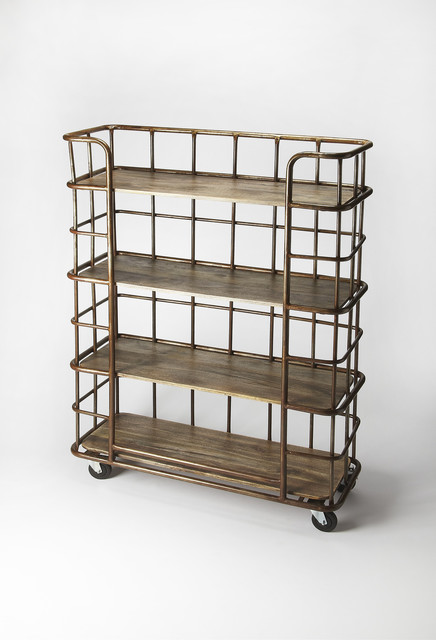 Antioch Industrial Chic Etagere - Multi-Color.