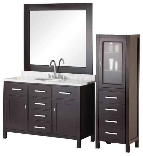 72 Modern Double Sink Bathroom Vanity Transitional Bathroom