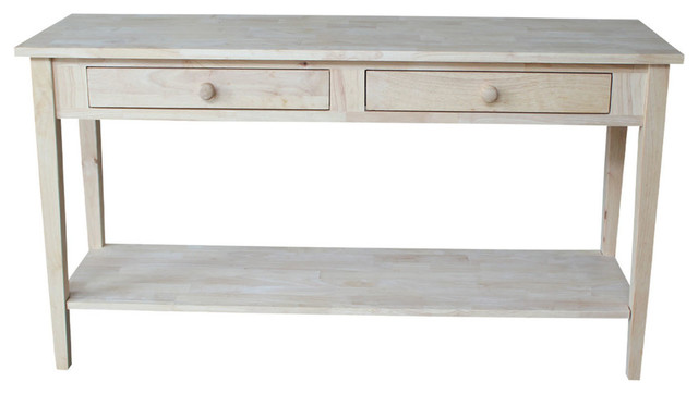 "Mason Spencer Console Table, 60""."