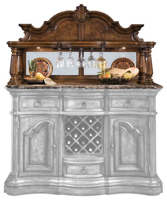 San Mateo Sideboard Hutch (Top Only, Requires Base) - China Cabinets And Hutches - by Pulaski