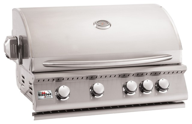 "Summerset Grills 32"" Sizzler Stainless Steel Natural Gas Grill."