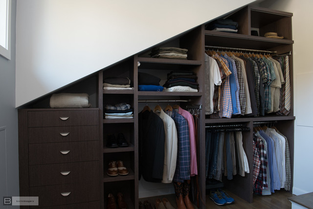 Eclectic Custom Closet and Dressing Room modern-closet