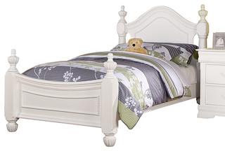 Classique Bed, White, Twin