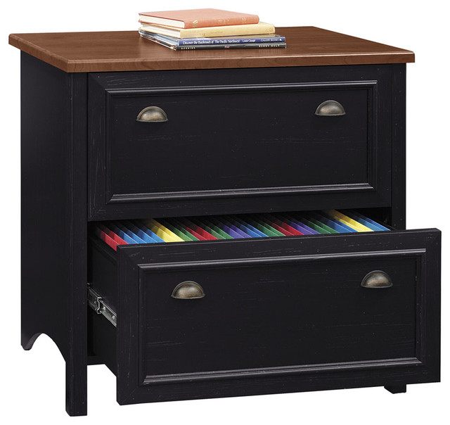 Luxury Sunset Cottage 2Drawer Lateral File Cabinet Multiple Finishes