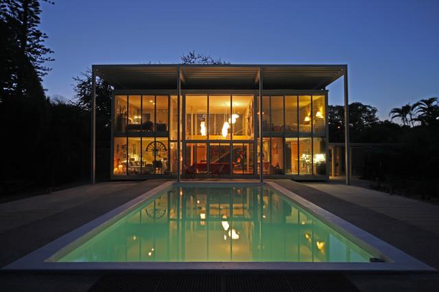 The Umbrella House Modern Tampa By Ciulla Design