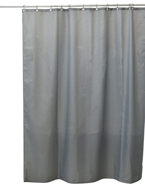 Shower Curtain Polyester Solid Colors Contemporary Shower Curtains By Evideco