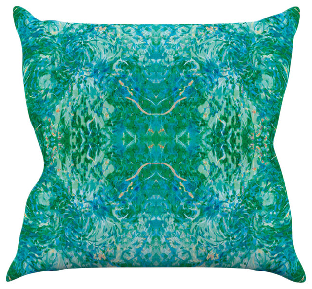 Teal Green Decorative Pillows : Nikposium