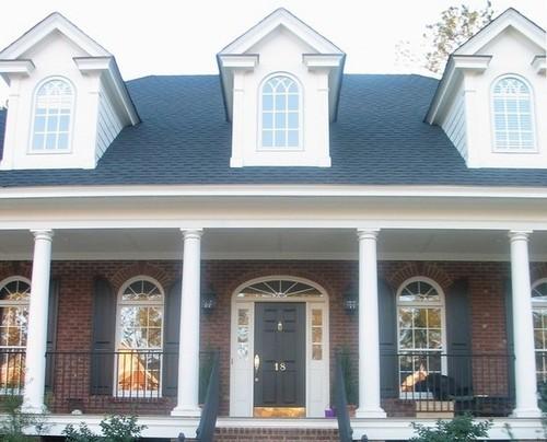 Radius Top Casement Windows With Gothic Grills