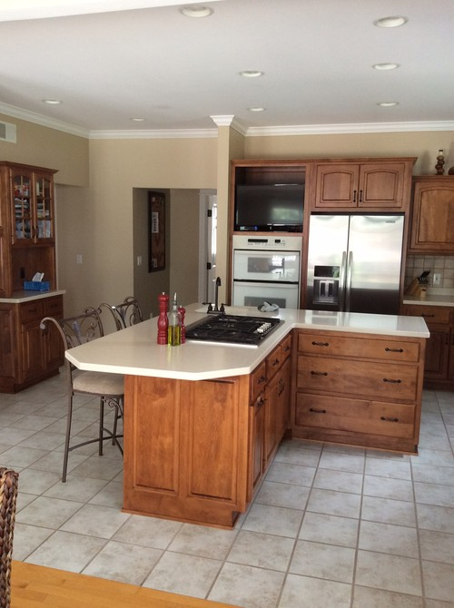 I Need Help With Updating My Kitchen I Want Yo Change The Countert